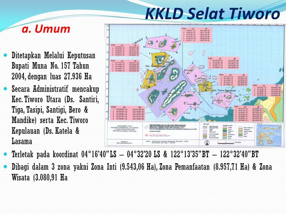 KKLD Selat Tiworo a. Umum