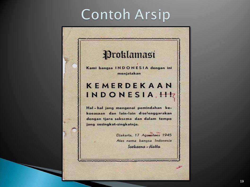 Contoh Arsip