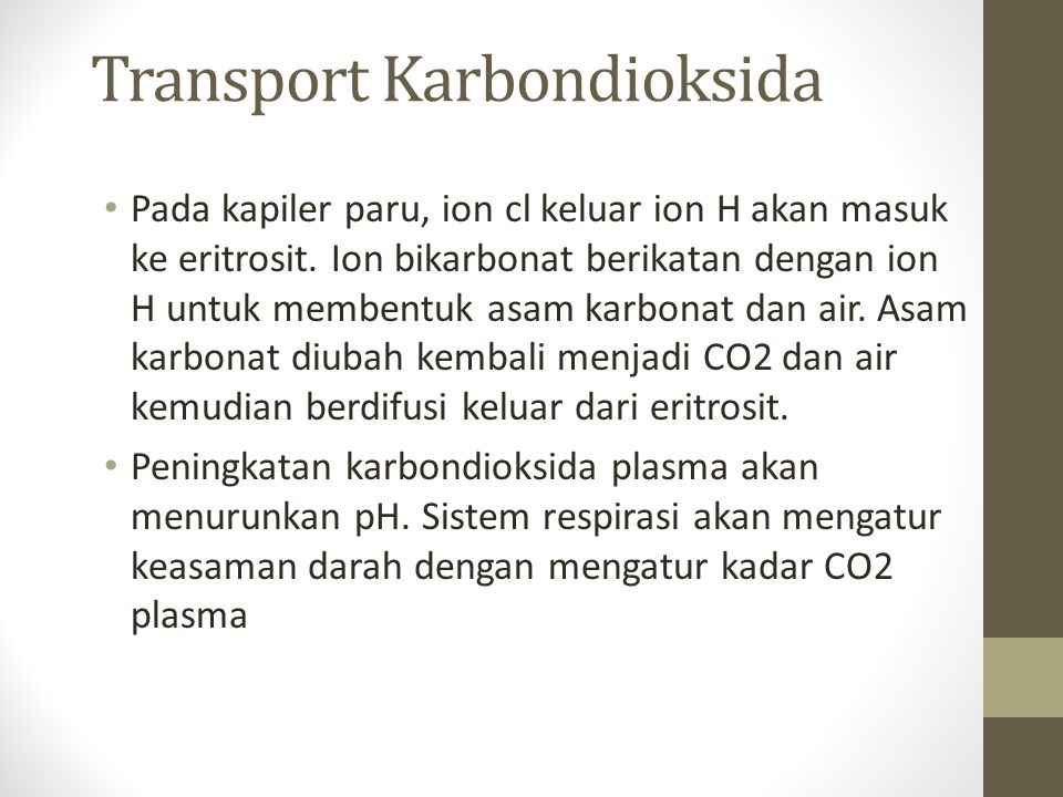 Transport Karbondioksida