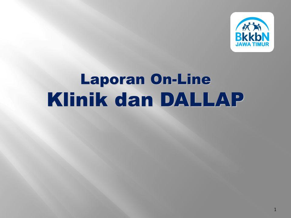Laporan On-Line Klinik dan DALLAP