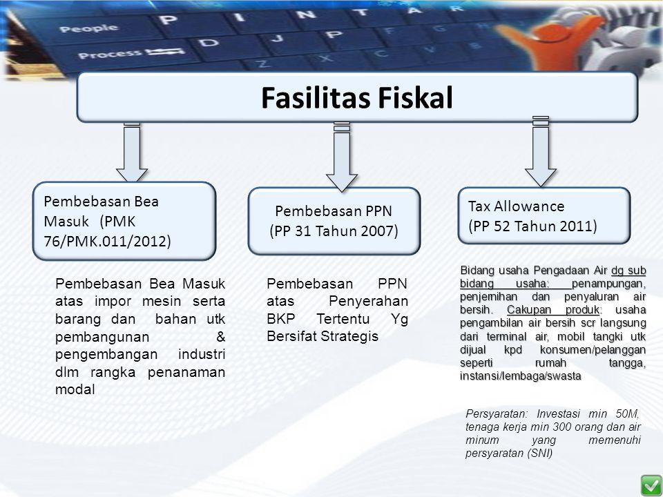 Fasilitas Fiskal Pembebasan Bea Masuk (PMK 76/PMK.011/2012)