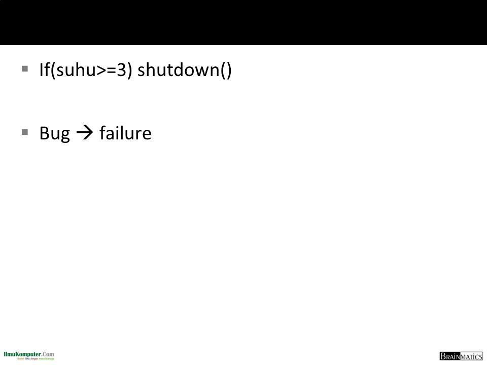 If(suhu>=3) shutdown()