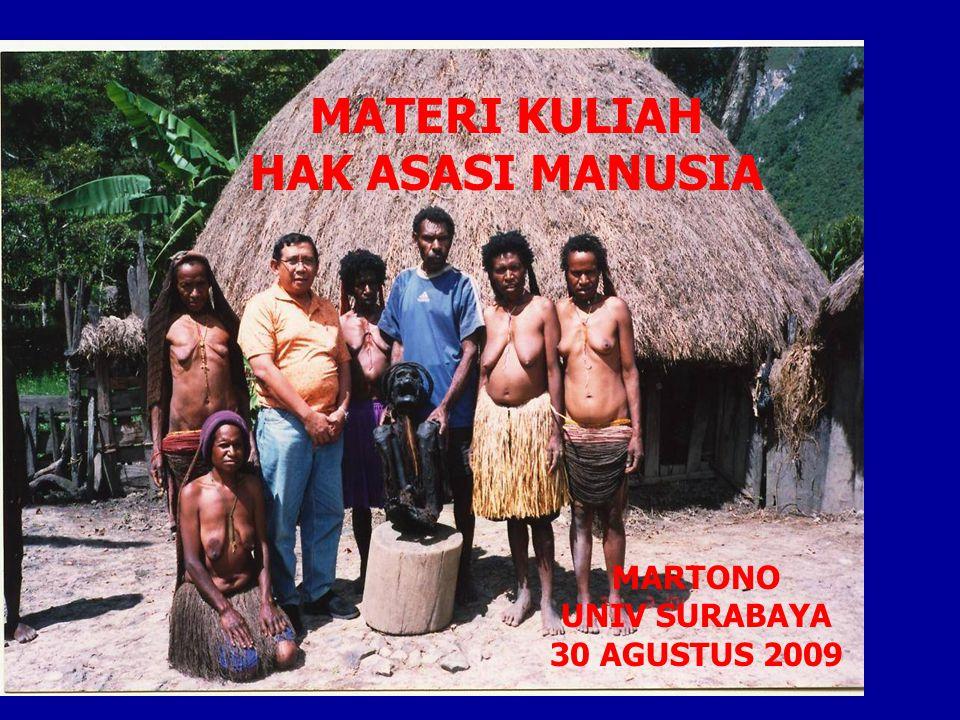 MATERI KULIAH HAK ASASI MANUSIA