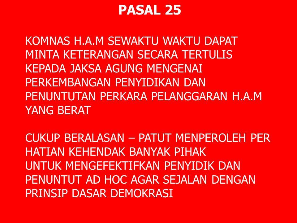 PASAL 25