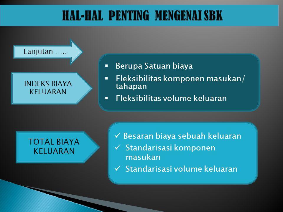 HAL-HAL PENTING MENGENAI SBK