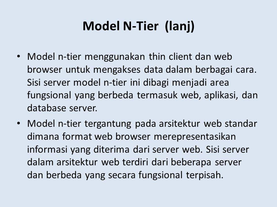 Model N-Tier (lanj)