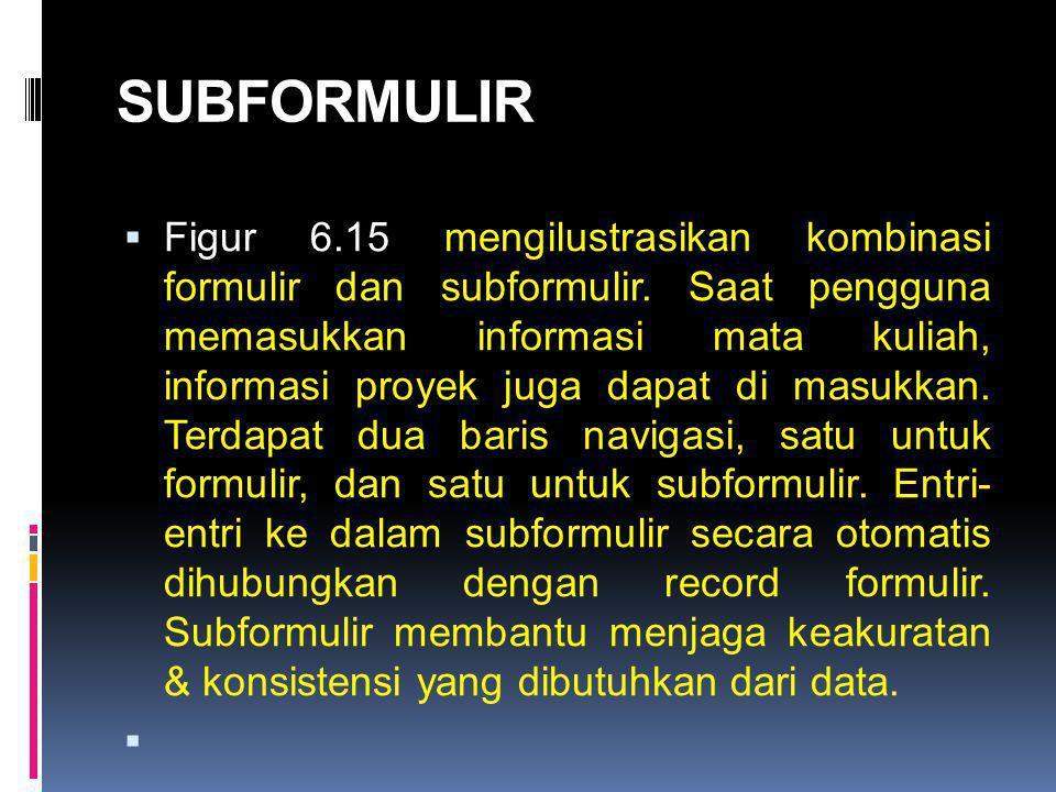 SUBFORMULIR