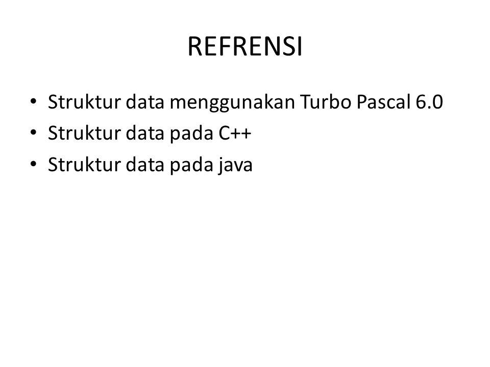 REFRENSI Struktur data menggunakan Turbo Pascal 6.0