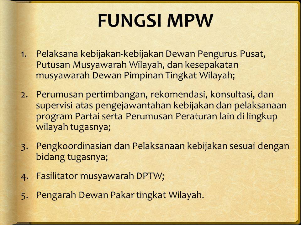 FUNGSI MPW