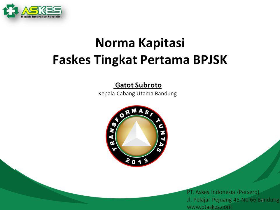 Faskes Tingkat Pertama BPJSK