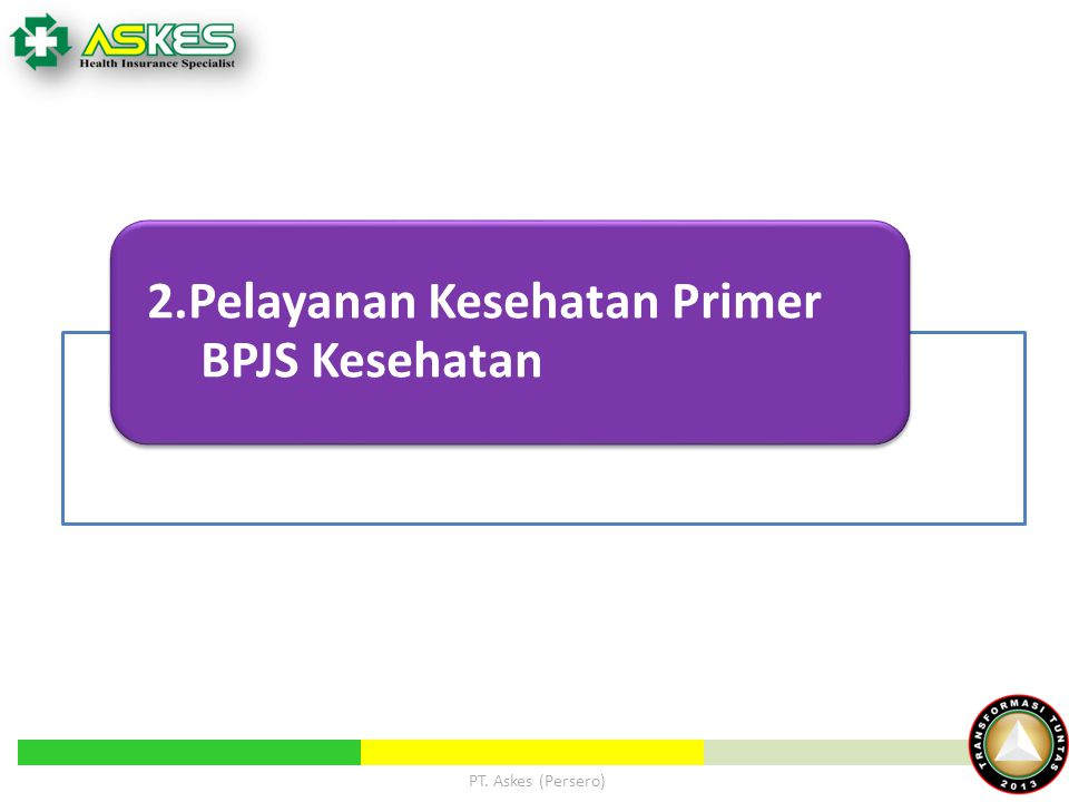 2.Pelayanan Kesehatan Primer BPJS Kesehatan