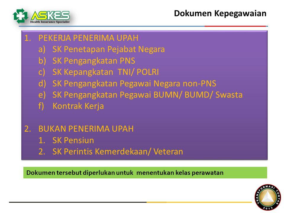 SK Penetapan Pejabat Negara SK Pengangkatan PNS
