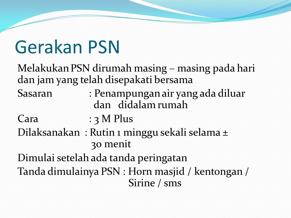 Gerakan PSN