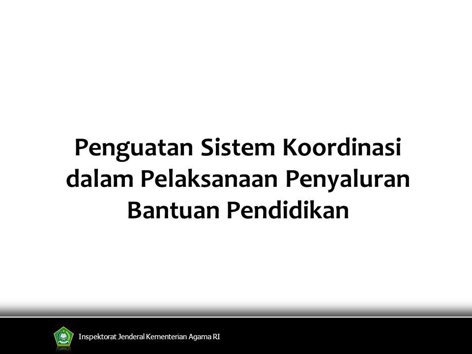 Penguatan Sistem Koordinasi dalam Pelaksanaan Penyaluran Bantuan Pendidikan