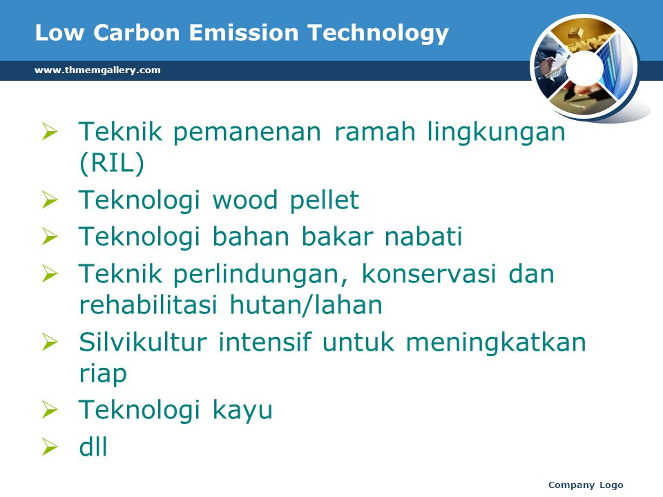 Low Carbon Emission Technology