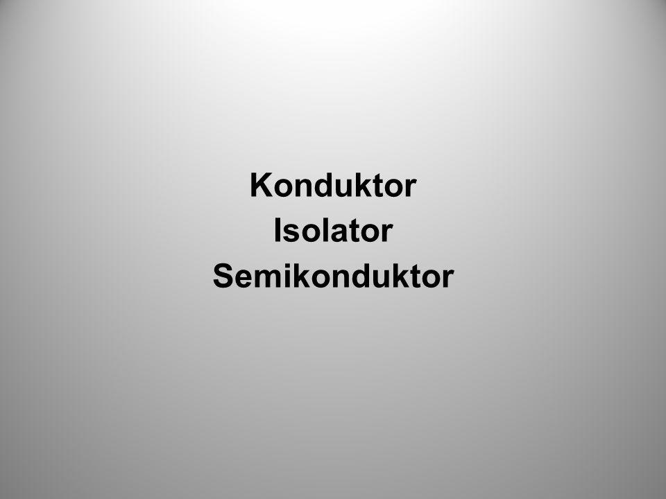 Konduktor Isolator Semikonduktor