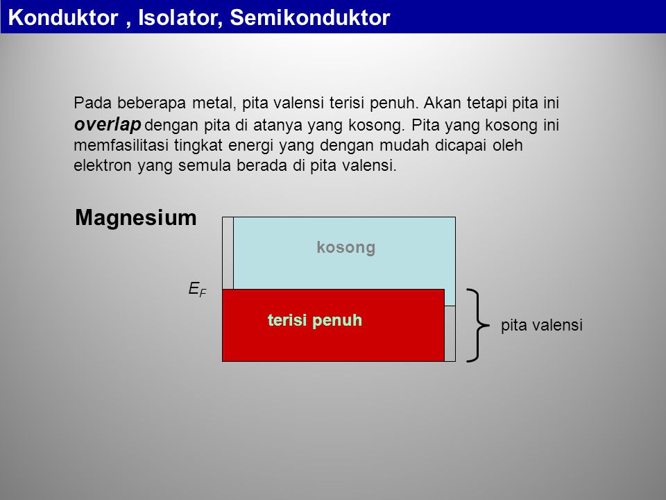 Konduktor , Isolator, Semikonduktor