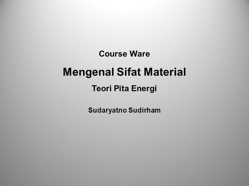 Mengenal Sifat Material