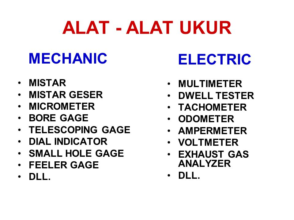 ALAT - ALAT UKUR MECHANIC ELECTRIC MISTAR MULTIMETER MISTAR GESER