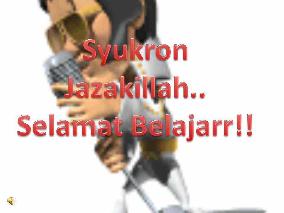 Syukron Jazakillah.. Selamat Belajarr!!