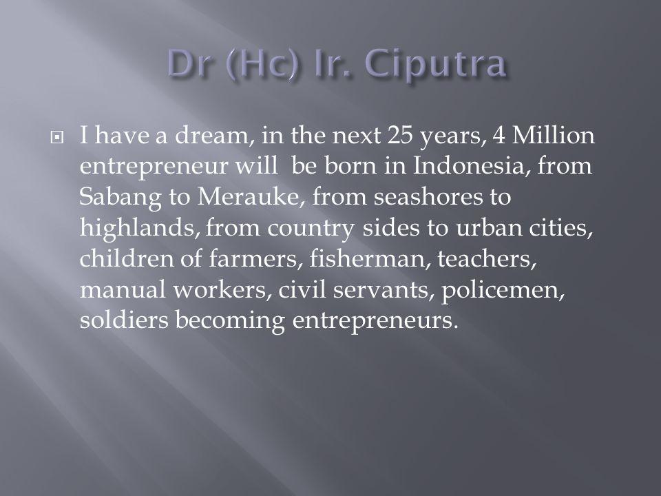 Dr (Hc) Ir. Ciputra