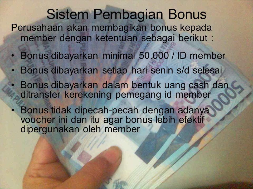 Sistem Pembagian Bonus