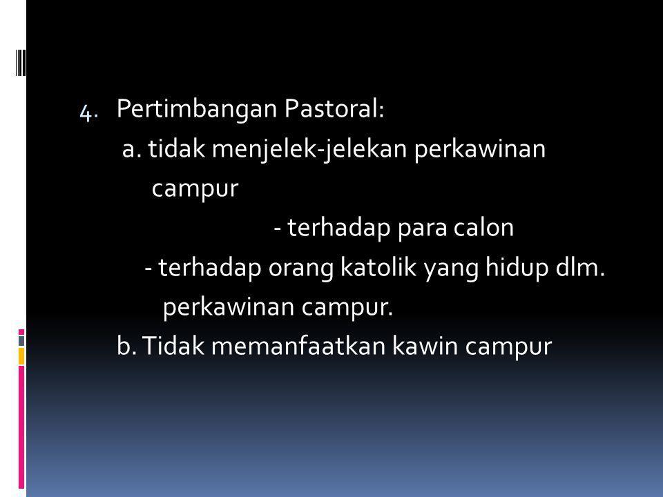 Pertimbangan Pastoral: