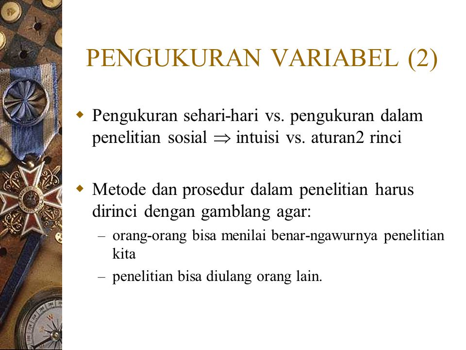 PENGUKURAN VARIABEL (2)