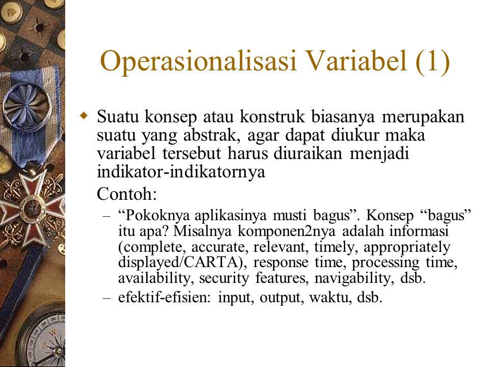 Operasionalisasi Variabel (1)