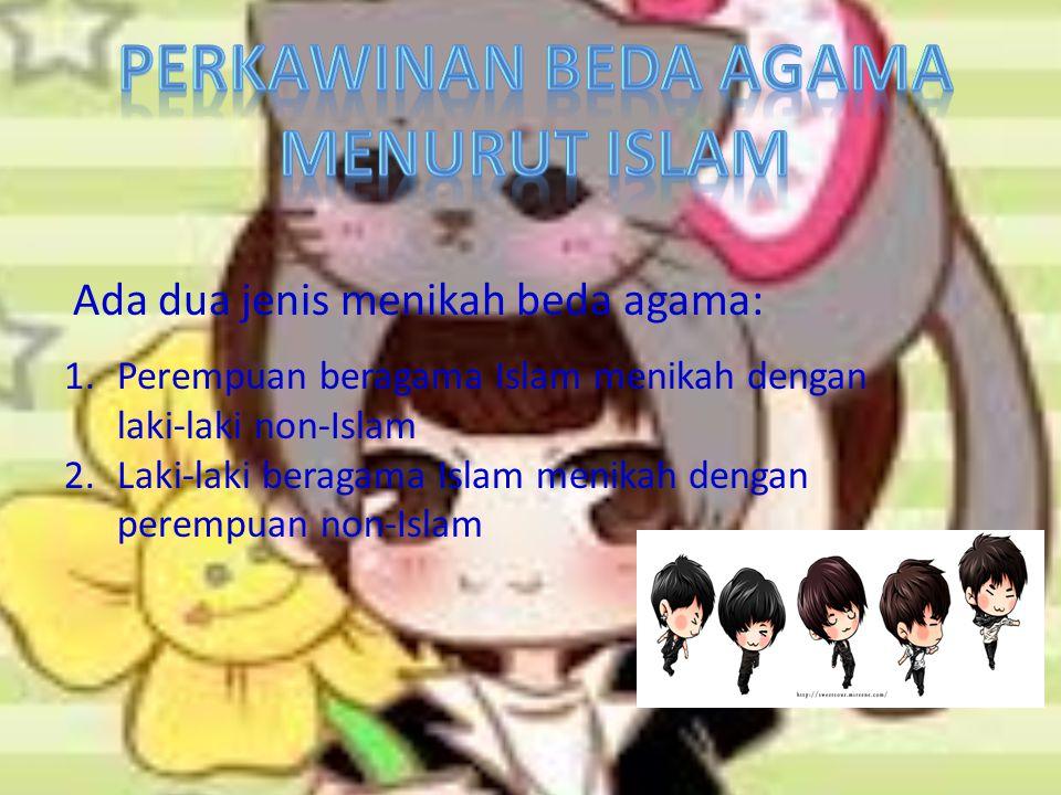 Perkawinan beda agama menurut islam