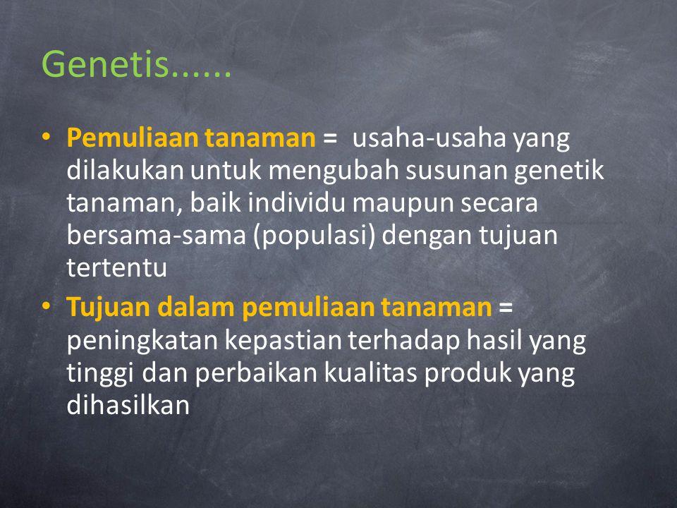 Genetis......
