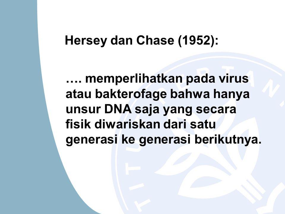 Hersey dan Chase (1952):