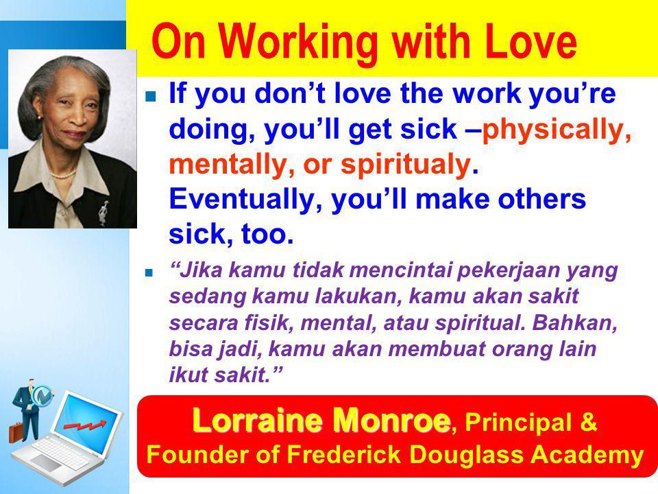 Lorraine Monroe, Principal & Founder of Frederick Douglass Academy