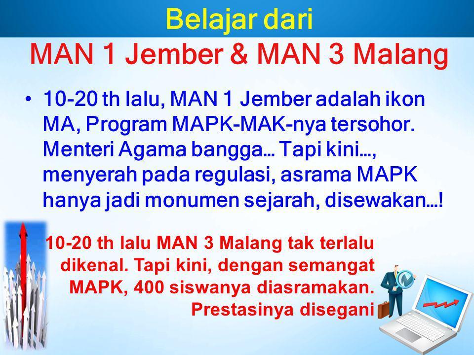 Belajar dari MAN 1 Jember & MAN 3 Malang