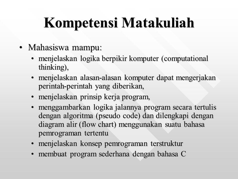 Kompetensi Matakuliah