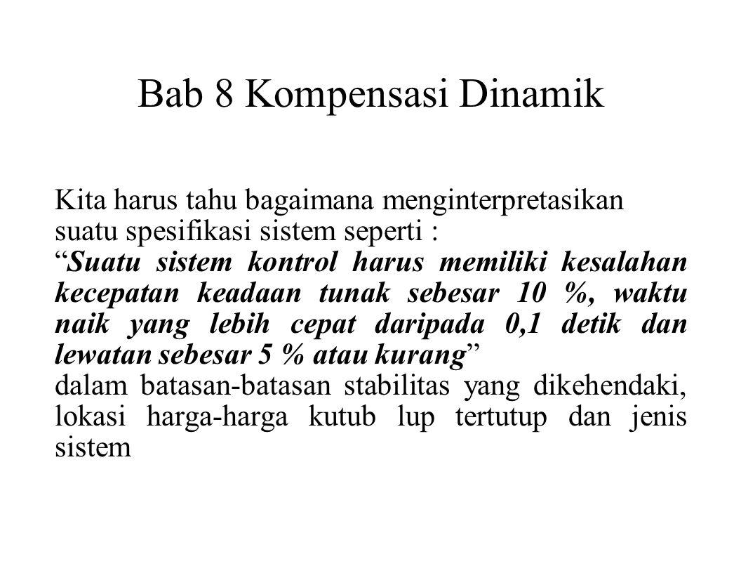Bab 8 Kompensasi Dinamik