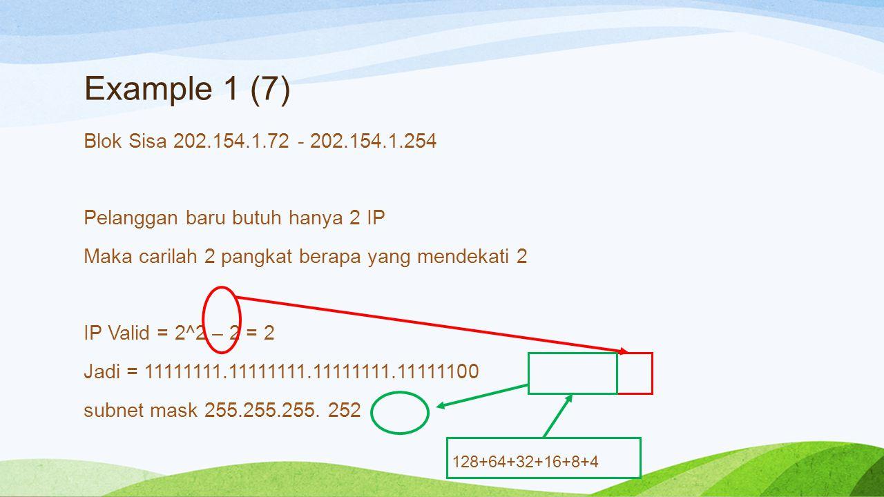 Example 1 (7)