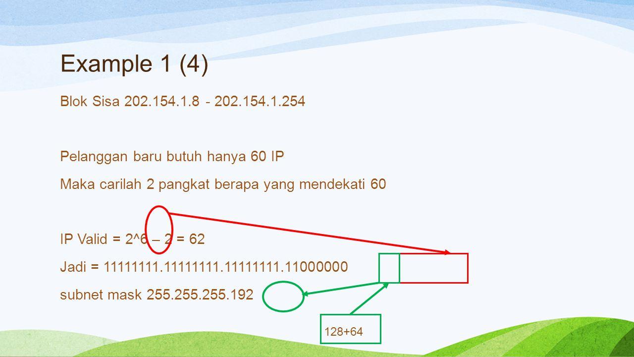 Example 1 (4)