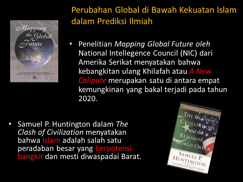 Perubahan Global di Bawah Kekuatan Islam dalam Prediksi Ilmiah