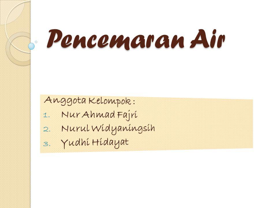 Anggota Kelompok : Nur Ahmad Fajri Nurul Widyaningsih Yudhi Hidayat