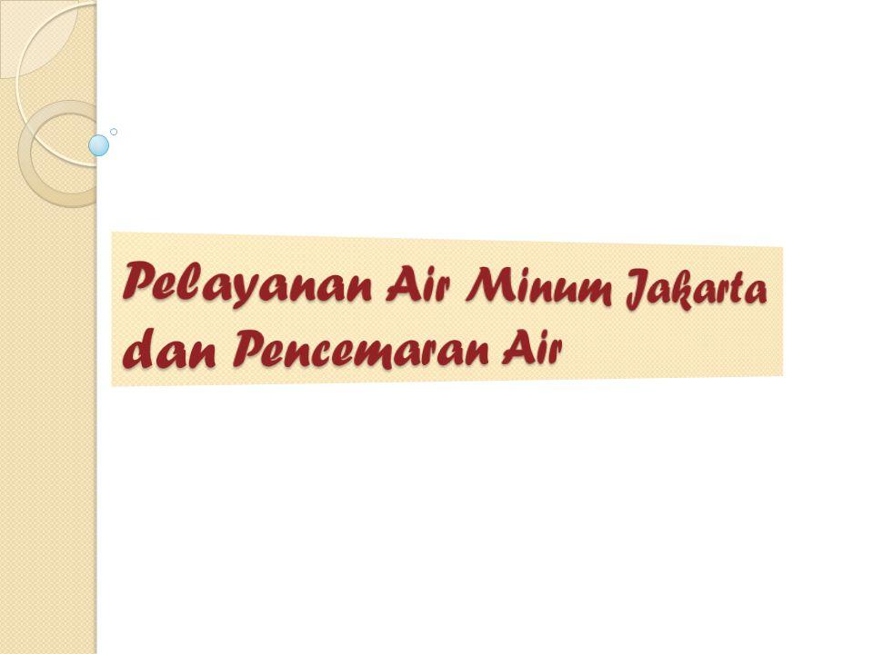 Pelayanan Air Minum Jakarta dan Pencemaran Air