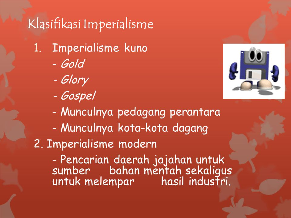 Klasifikasi Imperialisme