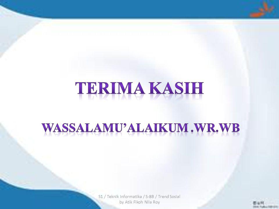 Wassalamu'alaikum .wr.wb