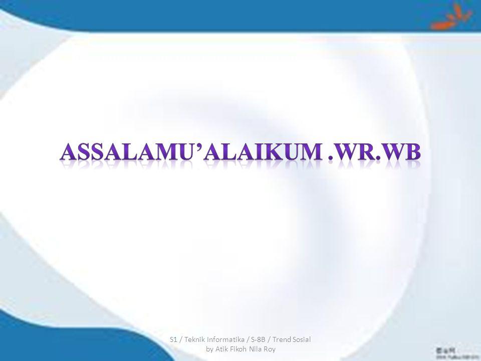 ASSALAMU'ALAIKUM .WR.WB