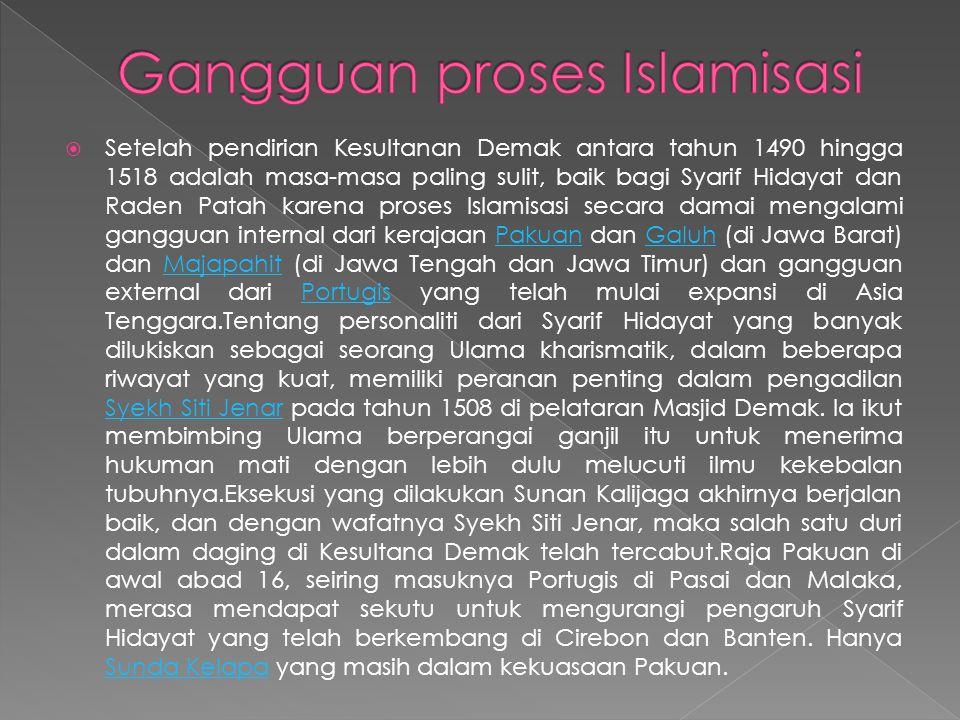 Gangguan proses Islamisasi