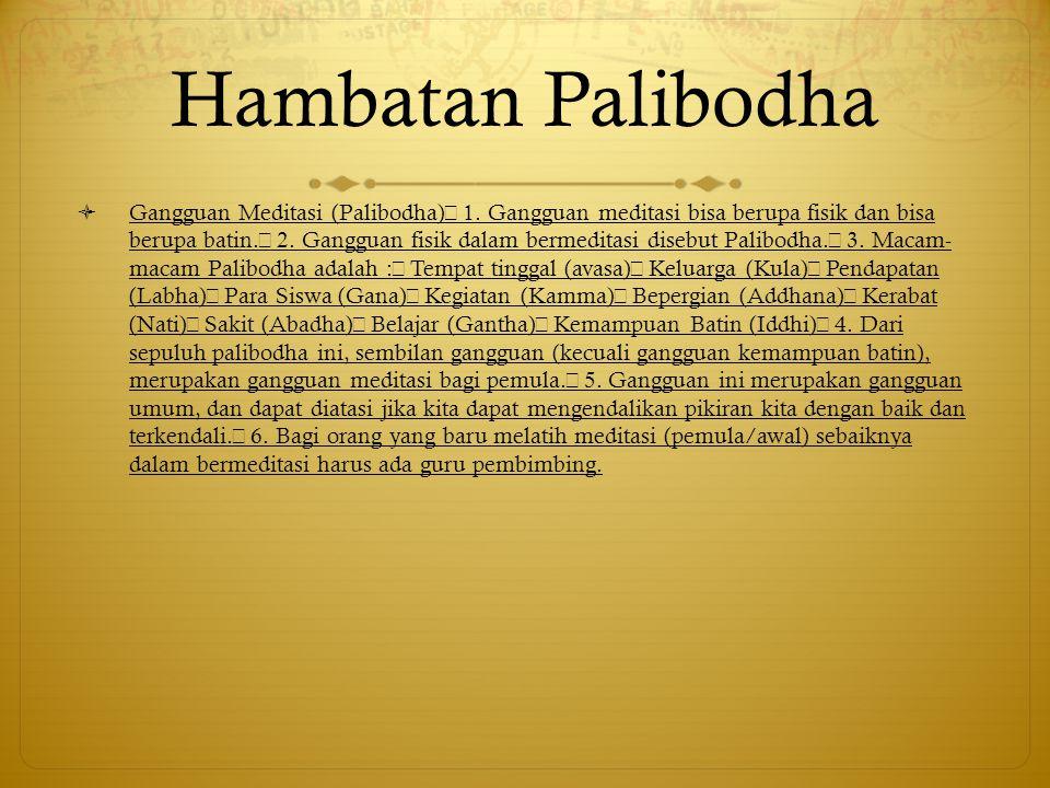 Hambatan Palibodha