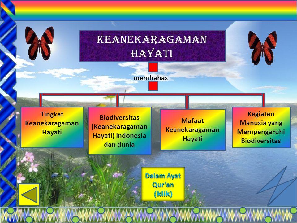 KEANEKARAGAMAN HAYATI