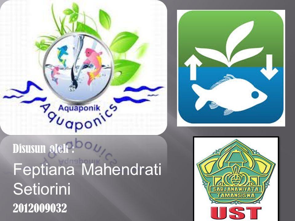 Disusun oleh : Feptiana Mahendrati Setiorini 2012009032