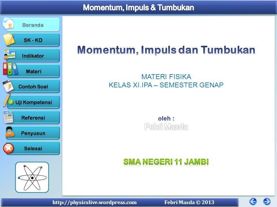 Momentum, Impuls dan Tumbukan