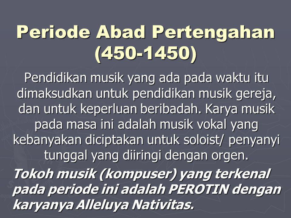 Periode Abad Pertengahan (450-1450)